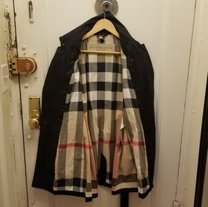 BURBERRY BRIT TRENCH COAT WITH WARMER